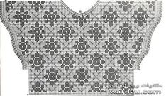 вязание - платья и кофты — Yandex. Filet Crochet Charts, Crochet Gratis, Crochet Diagram, Crochet Sweater Design, Crochet Blouse, Diy Crafts Knitting, Diy Crafts Crochet, Fillet Crochet, Crochet Woman