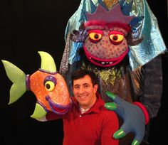 """When You Wish Upon a Fish"" * MadcapPuppets.com * @Madcap Puppets"