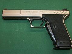 HK P7 M13 long slide 9x19mm. Find our speedloader now! http://www.amazon.com/shops/raeind