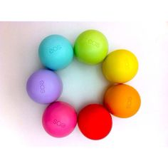 A lip balm this bright will never get lost in your bag or office. Plus we love the fun shape and flavors.