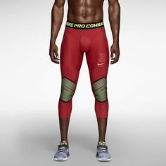 Nike Pro Combat Hyperstrong Slider Tight Men's Baseball Tights. Nike Store