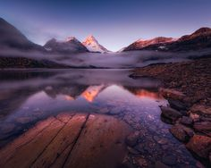 Another sunrise image from the beautiful Mt Assiniboine.