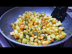 Potato Recipe / Recette Pomme de terre la plus savoureuse ! 😋 - YouTube Tuna Dishes, My Favorite Food, Favorite Recipes, Potato Cakes, Lunch Meal Prep, Potato Recipes, Salsa, Food And Drink, Fruit
