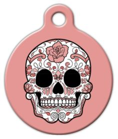 Get your furry friend ready for Dia de los Muertos with this snazzy tag.