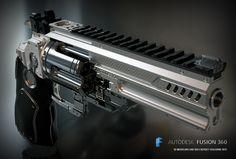 """ArtStation - """"Konstantin""""heavy revolver, Sergey Kolesnik"""