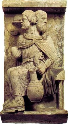 """""""January Janus is the god of beginnings and endings, and doorways. His festival was held on January Roman Sculpture, Stone Sculpture, Romanesque Art, Romanesque Sculpture, Roman Gods, Roman History, Ancient Rome, Ancient Art, Deities"""