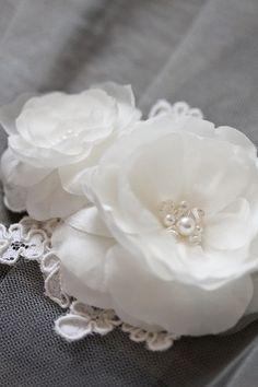 GABRIELLA flower headpieces and wedding accessories by Whitehouse Handmade Bridal Headpieces, Bridal Hair, Wedding Venues, Wedding Day, Bride Book, Flower Headpiece, 50th Wedding Anniversary, Bridal Accessories, Silk Flowers