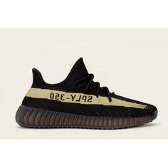 big sale 1ed3d 78993 Adidas Yeezy Boost - Basket Adidas Yeezy Boost 350 V2 Femme Core Noir Vert  Core Noir