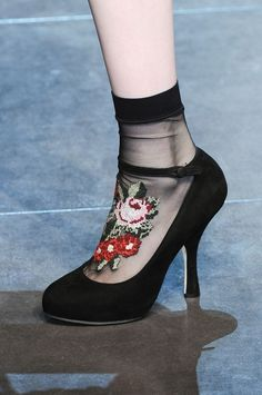 Detail at Dolce & Gabbana Fall/Winter 12