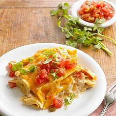 Quick Chicken Tortilla Bake From Better Homes and Gardens, ideas and improvement projects for your home and garden plus recipes and entertaining ideas.