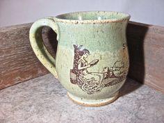 Book Lovers Mug  Reading mug  by Blaine Atwood by batwoodcreations