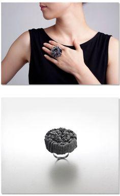 Klimt02: Kim, Yong Joo jewelry design unique handmade jewelry images jewelers