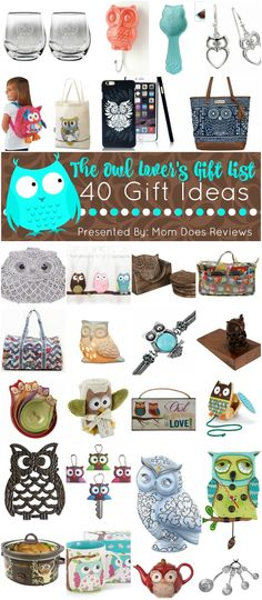 Are you an owl lover?  So is Pam here at Mom Does Reviews! She is such a BIG owl lover that she requested I find you all the best owl gifts I could find this year for our ultimate owl lovers gift guide!  I have spent days searching for unique...