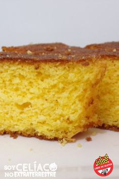 Receta de torta sin gluten de harina de maíz y limón | #sinTACC #singluten #receta #recipe #glutenfree #torta #limón #harinademaíz Gluten Free Cakes, Gluten Free Desserts, Vegan Gluten Free, Gluten Free Recipes, Almond Cakes, Healthy Sweets, Going Vegan, Cupcake Cakes, Cooking Recipes