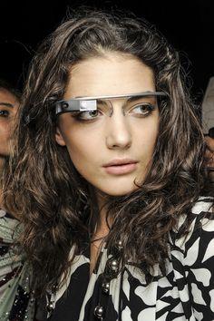 Google Glass in Diane von Furstenberg NYFW SS13 Show