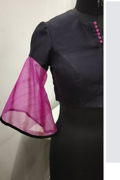 Buy Online Blouse Sewing Patterns from Blouse Guru in Seconds. with different categories of Blouse Sewing Patterns. Saree Blouse Patterns, Designer Blouse Patterns, New Blouse Designs, Dior Dress, Blouse Online, Sleeve Designs, Kebaya, Indian Designer Wear, Blouse Styles