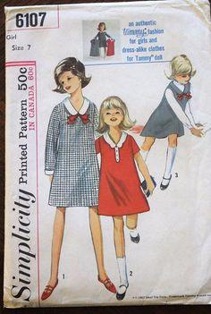 9b5c0d40a 10 Best Girl s Vintage Patterns images