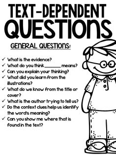 Text dependent questions for close reading education at repi Reading Lessons, Reading Resources, Reading Skills, Teaching Reading, Guided Reading, Writing Skills, Teaching Tools, Learning, Close Reading Strategies