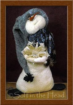 soft in the head snowman