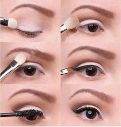 maquillaje casual paso a paso! <3