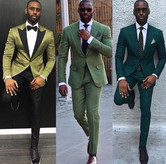 VISIT FOR MORE Hues of Green .Off to Wednesday for Fashion Week by davidson_frere The post Hues of Green .Off to Wednesday for Fashion Week appeared first on Fashion. Sharp Dressed Man, Well Dressed Men, Mens Fashion Suits, Mens Suits, Costume Africain, Moda Formal, Hommes Sexy, Suit And Tie, Gentleman Style