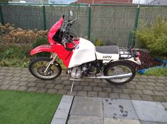 My BMW R80 g/s hpn replica R80, Off Road Adventure, Mopeds, Rally, Offroad, Industrial, Motorcycle, Bike, Vehicles