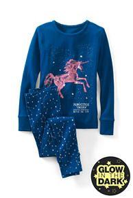 Snug Fit Graphic Pajama Set