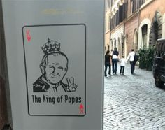 Popes are hanging around every corner in Rome - #Rome @FreeTourRome #like #follow #photooftheday #followme #tagsforlikes #beautiful #pope #vatican #picoftheday #amazing #relaxing #fun #join #share #bestoftheday #smile #like4like #repin