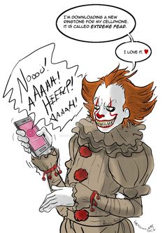 Fan art for my blog, also on commission ^_^ #pennywise #itpennywise #pennywise2017 #itpennywise2017