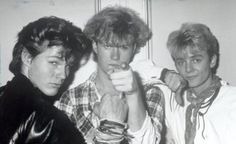 a-ha being silly