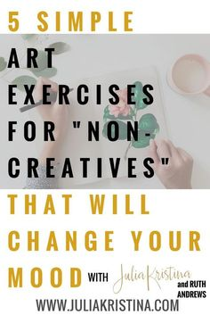Art offers us the unique opportunity to become completely immersed in self-expression. In doing so we are able to calm our nervous systems and more easily access a mindfulness state. Try these five art exercises for a simple way to access your creativi Art Therapy Projects, Art Therapy Activities, Art Projects, Therapy Ideas, Art Therapy Directives, Creative Arts Therapy, Artist Problems, Teen Art, School Supplies