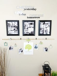 Family Tree Photo Display by Aly Dosdall using the Ruler Studio from We R Memory Keepers