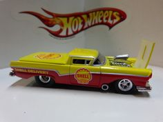 HOT WHEELS LOOSE 100% ADULT COLLECTIBLE SHELL GAS '57 FORD RANCHERO REAL RIDERS!