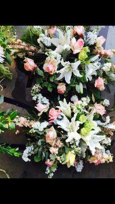 Arch Flowers, Cemetery Flowers, Floral Wreath, Wreaths, Home Decor, Floral Crown, Decoration Home, Door Wreaths, Room Decor