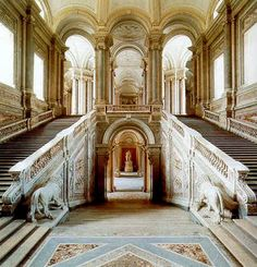 Royal Palace of Caserta, Italy.  (04)