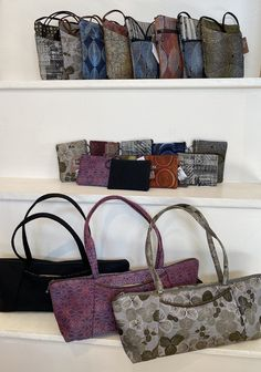 Distinctive textiles, woven in the USA, assembled in the USA, well-loved everywhere! Unique designs for all seasons; you will adore your Maruca bag for years to come.