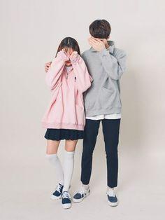 ไอเดียชุดคู่รักเสื้อคู่สไตล์วัยรุ่นน่ารักน่าอิจฉา