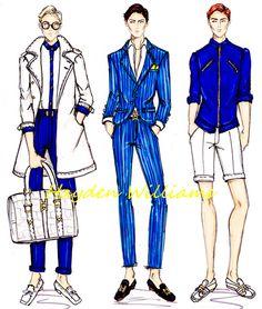 Hayden Williams SS13 Menswear collection pt2