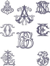 Number Four Eleven: Custom Monograms