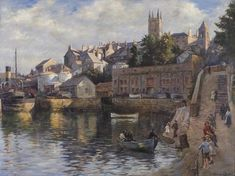 Stanhope Forbes, Abbey Slip 1921 Penlee House Gallery and Museum Penzance Cornwall UK