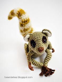 """Crochet: amigurumi lemure by Airali"" #Amigurumi  #crochet"