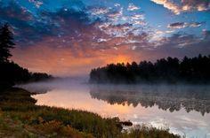 Algonquin Park sunrise... I think in my near future
