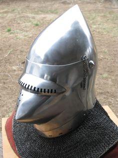 Helmets - Wassonartistryphotos Medieval Helmets, Medieval Armor, Early Middle Ages, Knight Armor, Head And Neck, Armors, 14th Century, Headgear, Anton