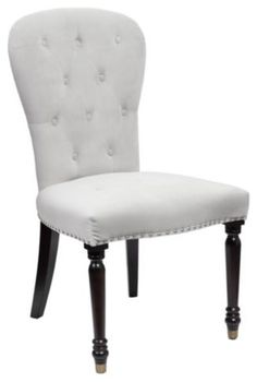 Our exclusive Waterloo Chair gives instant nobility to any dining room; in fact its so stunning it would look great in any room.