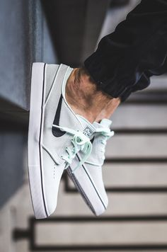 "Add to Flipboard Magazine. July 17,2017 by Kicksonfire ™ Kicksonfire: Nike SB Zoom Stefan Janoski ""Barely Green/Black""Men's Nike SB Zoom Stefan Janoski Skateboarding Shoe has a low-profile silhouette …"