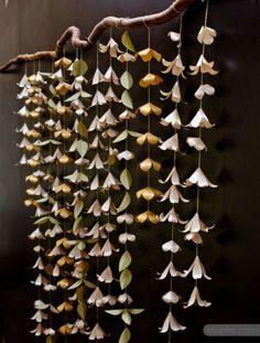 DIY Paper Garland Backdrop