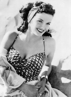 Jane Russell was a bombshell