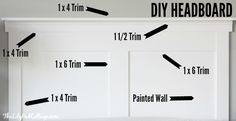 DIY Headboard - more changes in the master bedroom - The Lilypad Cottage