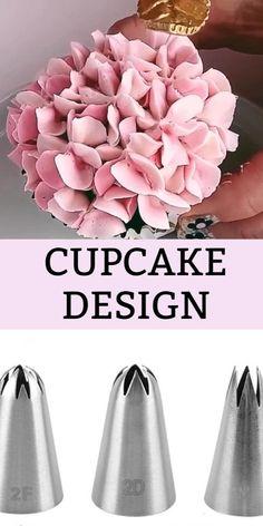 Cake Decorating Piping, Cake Decorating Videos, Cake Decorating Techniques, Cookie Decorating, Piping Frosting, Cake Icing, Cupcake Cakes, Mini Cakes, Icing Tips