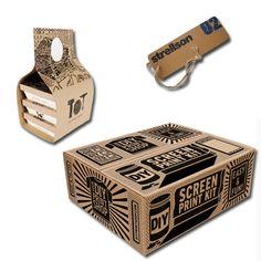 Estampado Cajas de Cartón   Serigrafía Roma Chile